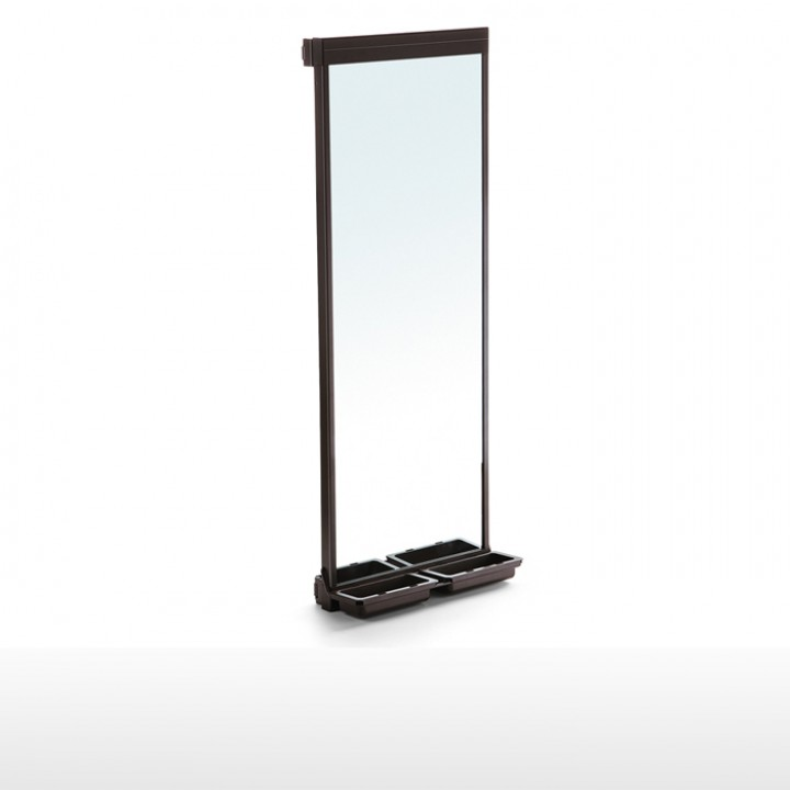 Pull-out mirror