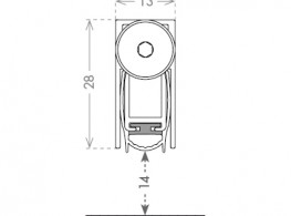 Doors seal - Mini Plus
