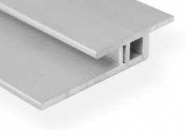 Transition profile LVT | SPC 25 mm - Aluminium series w/ aluminium base