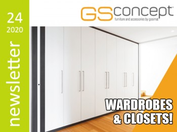 GOSIMAT | New Melamines for GS CONCEPT Wardrobes!